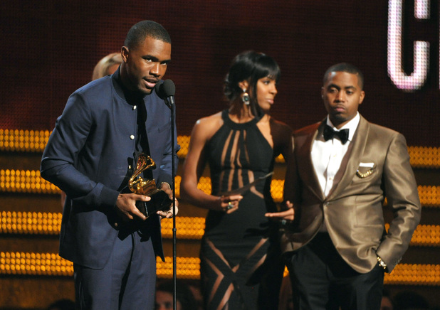 Frank Ocean at the Grammy Awards 2013
