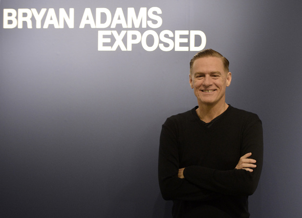 Musician and photographer Bryan Adams at the Dusseldorf opening of his &#39;Exposed&#39; photography exhibit