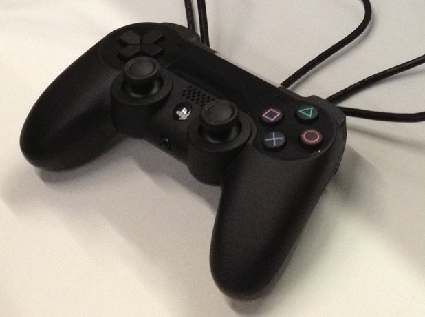 PS4 controller, new image