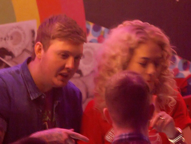 Rita Ora and James Arthur at Rita Ora&#39;s afterparty at Gatecrasher nightclubFeaturing: Rita Ora,James Arthur