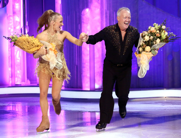 Dancing on Ice: Keith leaves the competition.