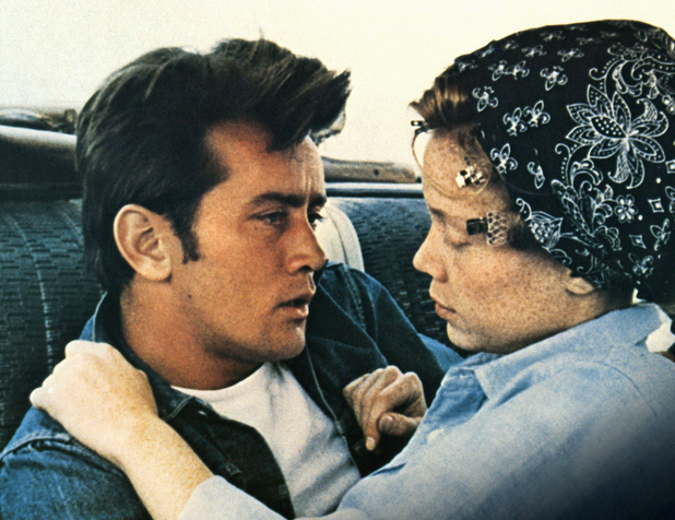 Martin Sheen, Sissy Spacek in Badlands