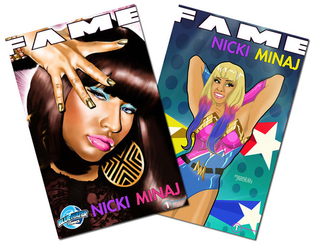 Nicki Minaj 'FAME' from Bluewater comics.