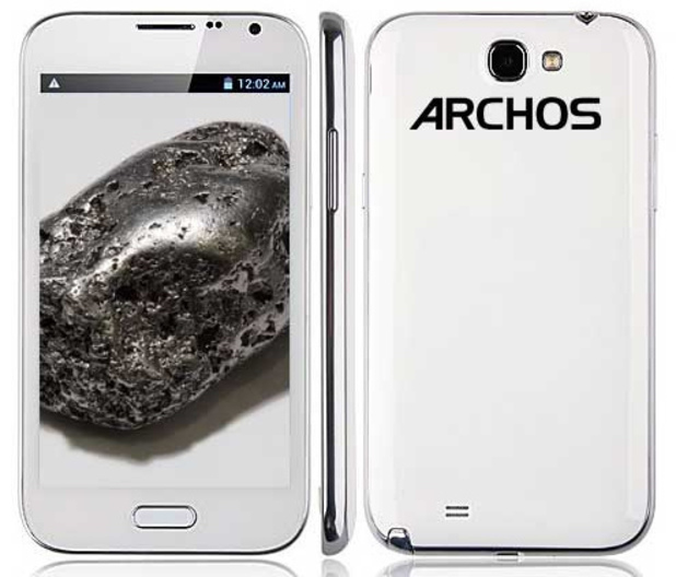 Rumoured Archos smartphone design