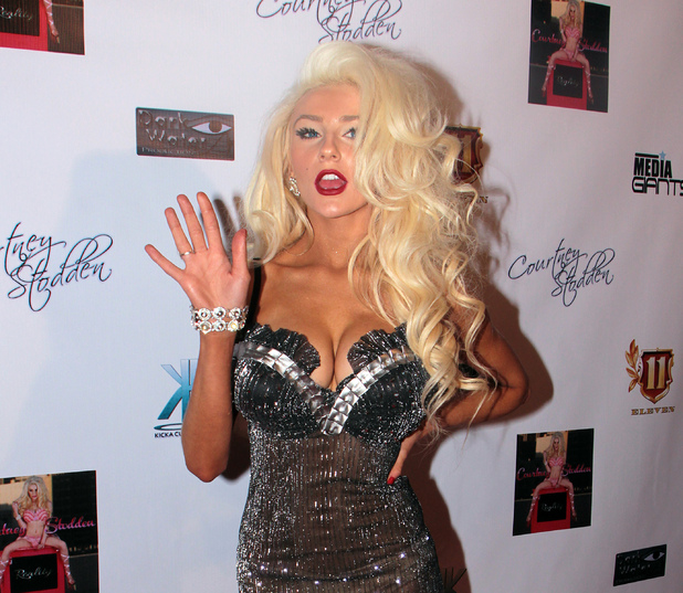 Courtney Stodden celebrates the premiere of her new music video &quot;REALITY&quot; at Eleven NightClub