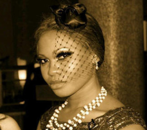 Nigerian singer Goldie Harvey