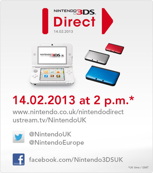 3DS Nintendo Direct February 14