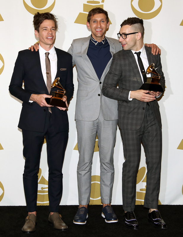 Nate Ruess, Andrew Dost and Jack Antonoff