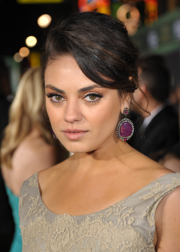 Mila Kunis, 'Oz the Great and Powerful' film premiere, Los Angeles