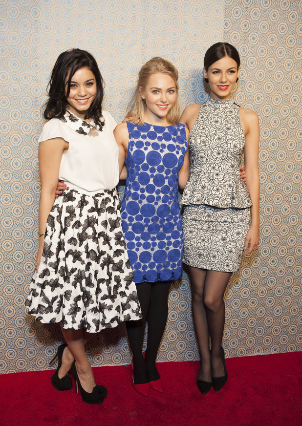 Vanessa Hudgens, Annasophia Robb and Victoria Justice