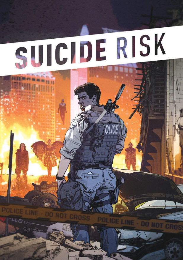 'Suicide Risk' artwork by Mike Carey
