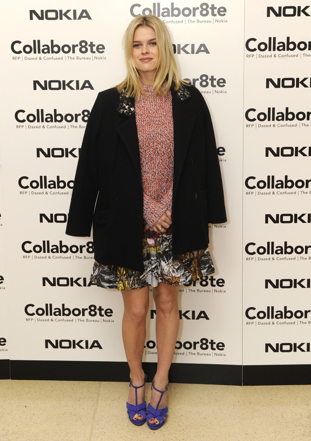 Alice Eve, Collabor8te Connected by NOKIA Premiere at Regent Street Cinema