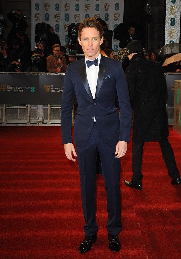 Eddie Redmayne, BAFTAs 2013