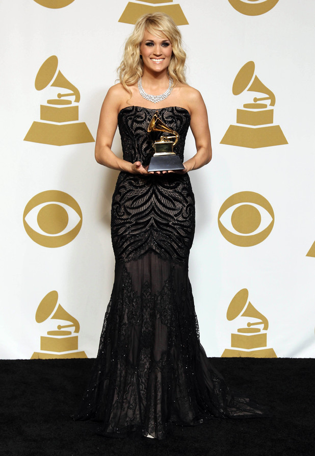 Carrie Underwood Grammy Awards 2013