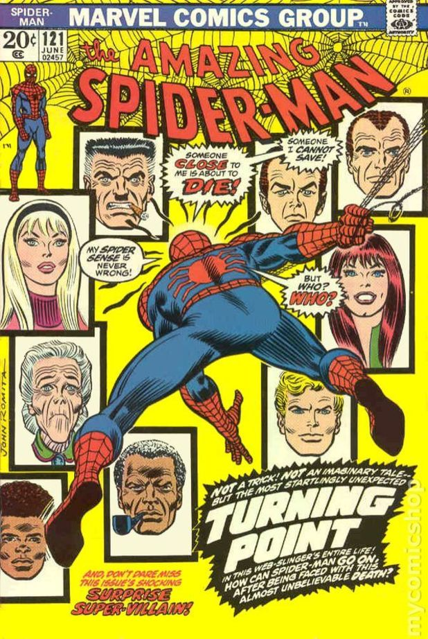 Amazing Spider-Man #121 cover artwork