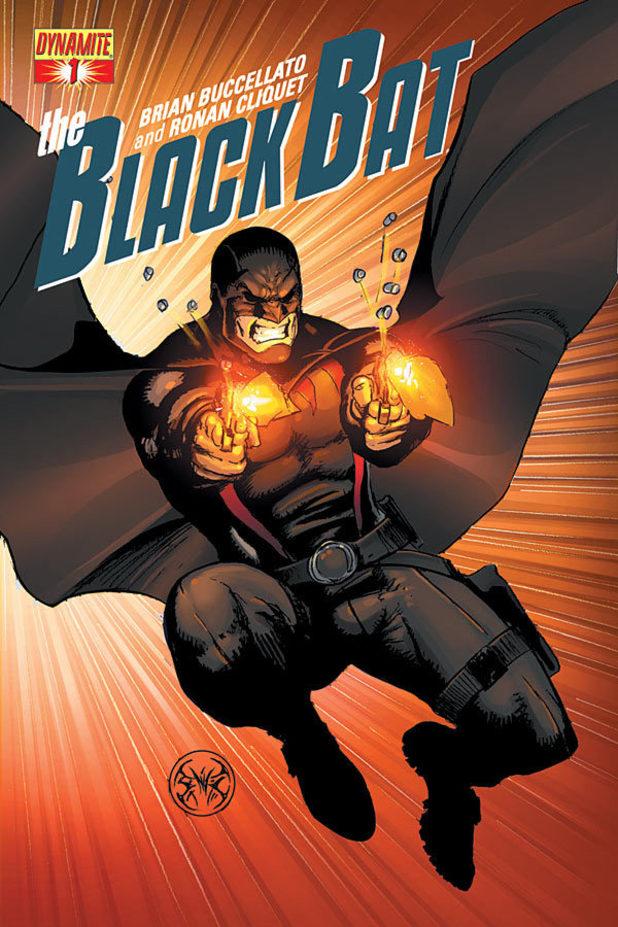 The Black Bat cover design