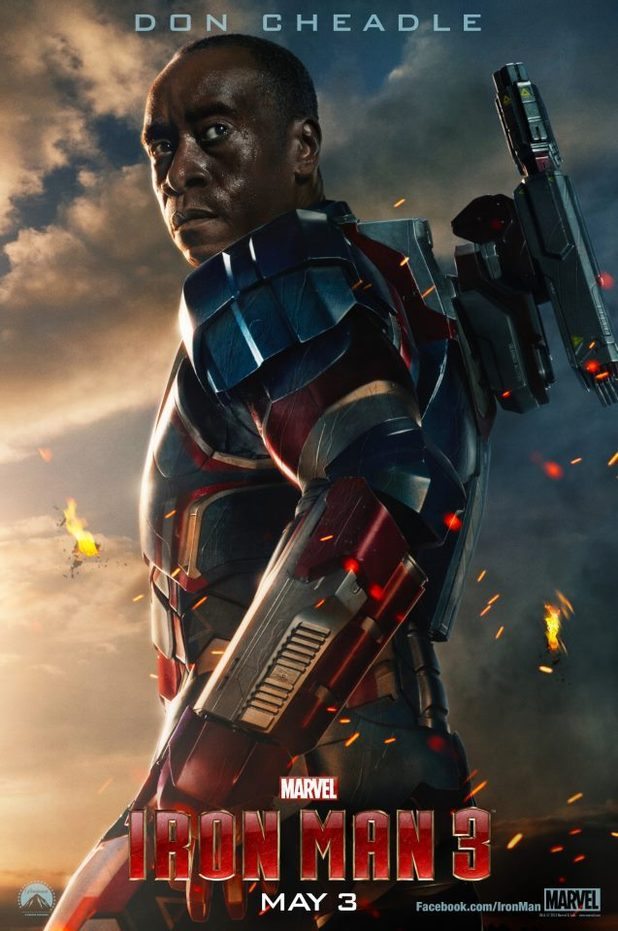 'Iron Man 3' poster featuring Don Cheadle