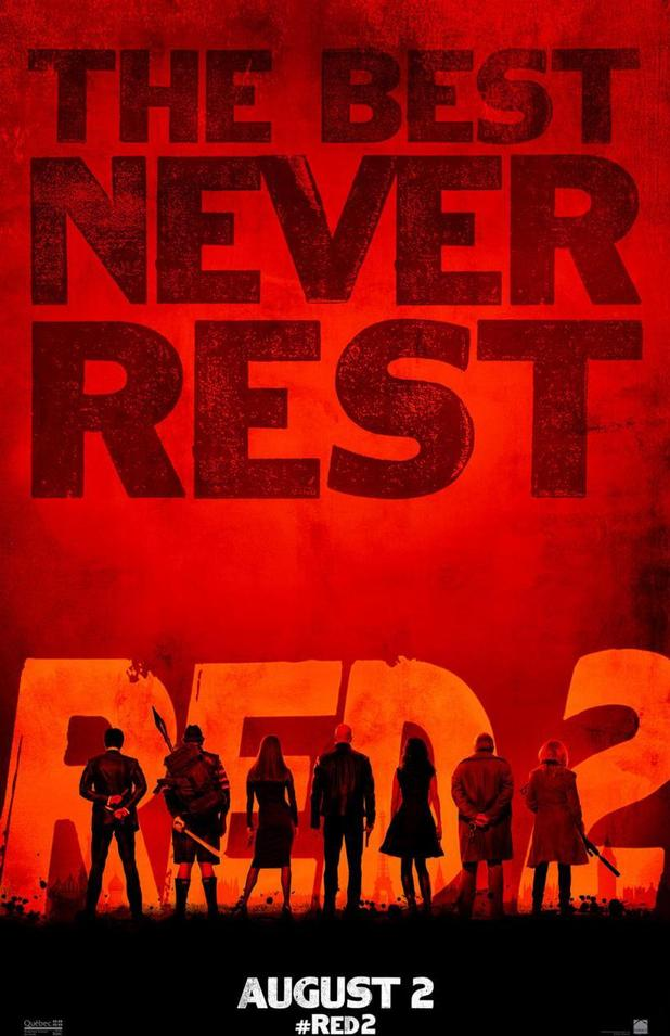 'RED 2' poster