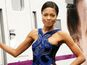 Naomie Harris joins Skyfall crew on train's maiden voyage.
