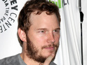 Chris Pratt has been away from home filming Guardians of the Galaxy in London.