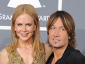 Nicole Kidman says her husband feels at home with Mariah Carey and Nicki Minaj.