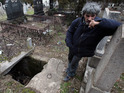 The Serbian man had to find shelter after he lost his home.