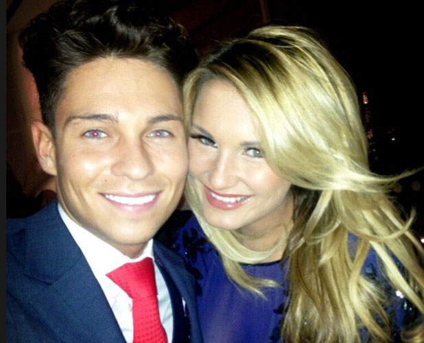 Sam Faiers and Joey Essex celebrate Valentine's Day