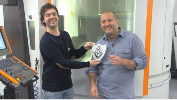 Apple's Jonny Ive gets Blue Peter badge