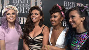 Little Mix, Labrinth, Ed Sheeran chat to DS at the BRIT Awards