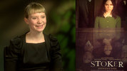 Mia Wasikowska and Matthew Goode on 'Stoker'