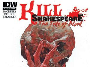 'Kill Shakespeare: The Tide Of Blood' cover