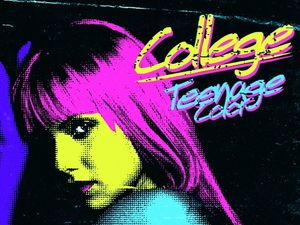 College 'Teenage Color' EP artwork