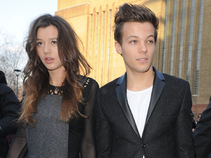 London Fashion Week - Autumn/Winter 2013 - Topshop Unique - Departures Featuring: Louis Tomlinson,Eleanor Calder
