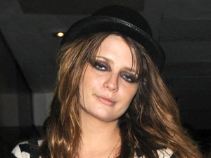 Mischa Barton appearing rather worse for wear as she leaves Whiskey Mist nightclub London