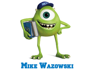 &#39;Monsters University&#39; character art: Mike Wazowski