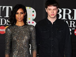 AlunaGeorge arriving for the 2013 Brit Awards at the O2 Arena, London