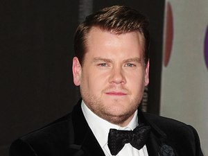 James Corden arriving for the 2013 Brit Awards at the O2 Arena, London