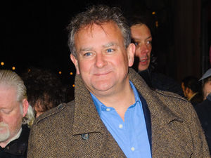 Hugh Bonneville arrives for the press night of Macbeth at Trafalgar Studios, in Westminster, central London.