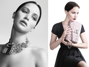 Jennifer Lawrence for Dior.