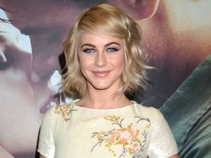 Julianne Hough arrives for the Irish premiere of 'Safe Haven'.