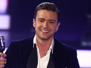Justin Timberlake performs on German television.