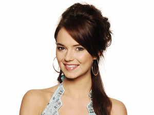 Kara Tointon as Dawn Swann in EastEnders.