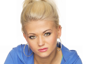 Danielle Harold as Lola Pearce in EastEnders.
