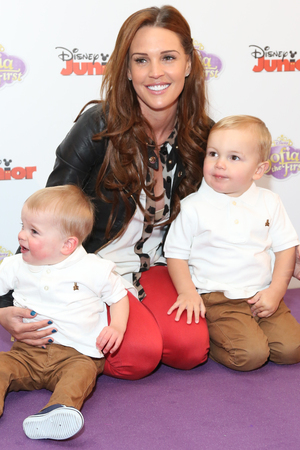 Sofia The First TV series launchFeaturing: Danielle Lloyd with her sons Archie and Harry Where: London, United Kingdom When: 22 Feb 2013 Credit: Lia Toby/WENN.com