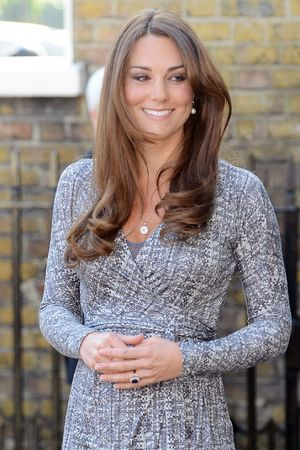 Kate Middleton, Duchess of Cambridge, Hope House, London, Max Mara dress
