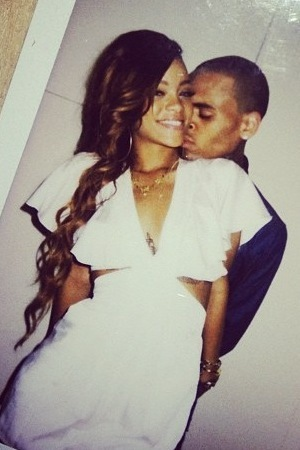 Rihanna's birthday pics with Chris Brown