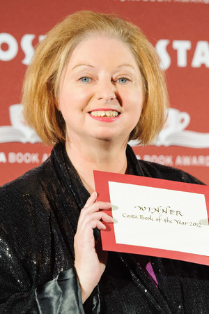 Hilary Mantel at the Costa Book Awards 2012