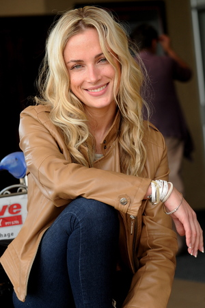 Reeva Steenkamp in Johannesburg, South Africa