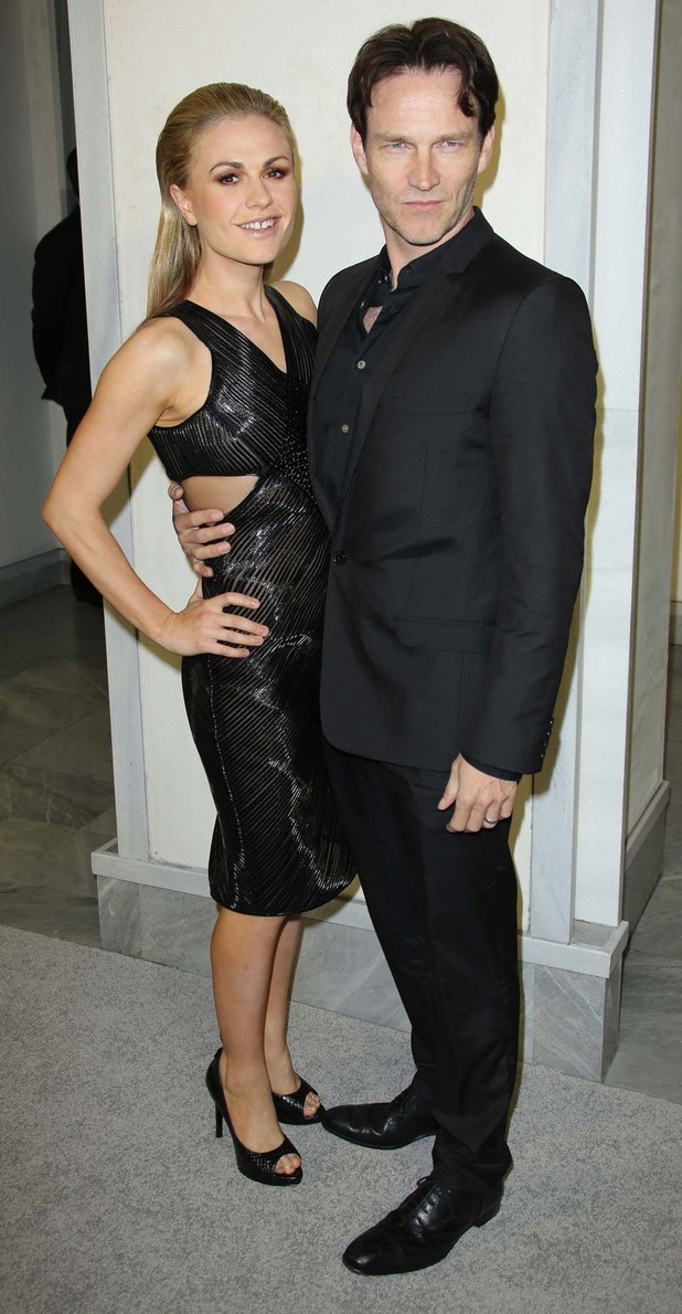 Stephen Moyer, Anna Paquin, Tom Ford cocktail party in support of Project Angel Food