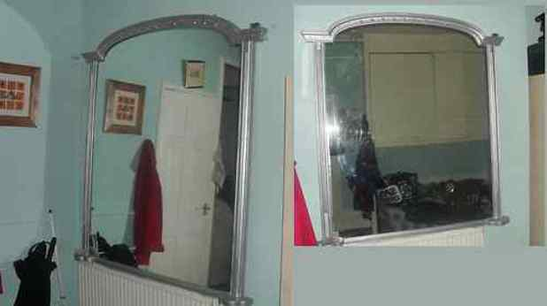 Haunted antique mirror which sold for £100 on ebay